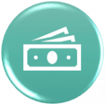 icon showing money