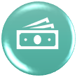 icon showing money